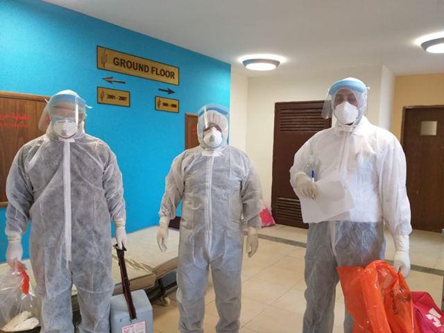 """كوادر صحية تحمي المجتمع وتواجه فيروس """"كورونا"""""""