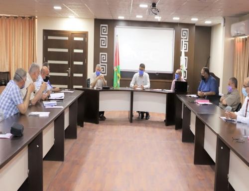 الصحة : غرفة عمليات الطوارئ الصحية تعقد اجتماعها الدوري