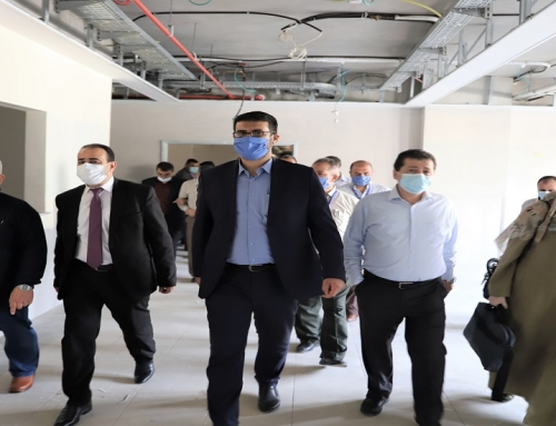 Abu Al-Rish in an inspection tour to the Gynecology and Obstetrics Hospital in the Shifa Medical Complex