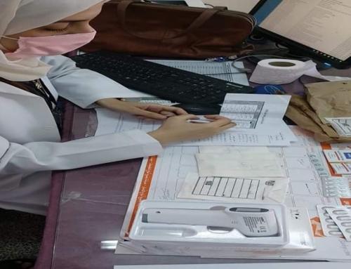 (147)ألف طالب تلقوا خدمات الصحة المدرسية خلال عام2019