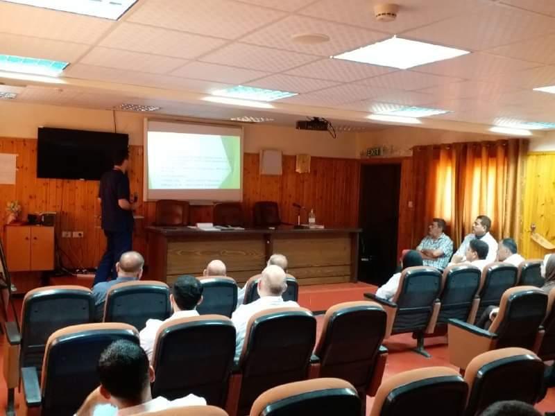 مستشفى النصر للأطفال تعقد محاضرة علمية لحالة تعاني من خلل وراثي في الجهاز العصبي