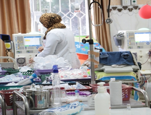 MOH-Gaza provides hemodialysis services for(880) patients