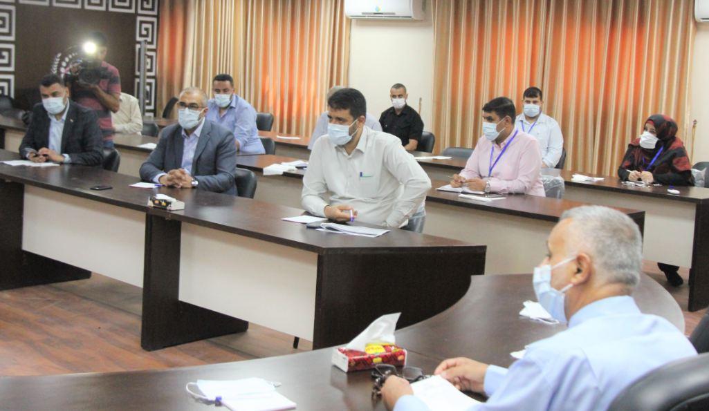 """د. أبو الريش: وضعنا خطة استراتيجية للحفاظ على بقاء قطاع غزة خالٍ من """"كورونا"""""""