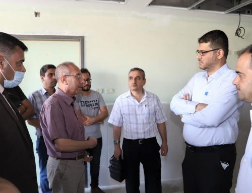 د.أبو الريش : نعمل على تعزيز الخدمات الصحية وتمكين تقديمها وفق معايير الجودة النوعية