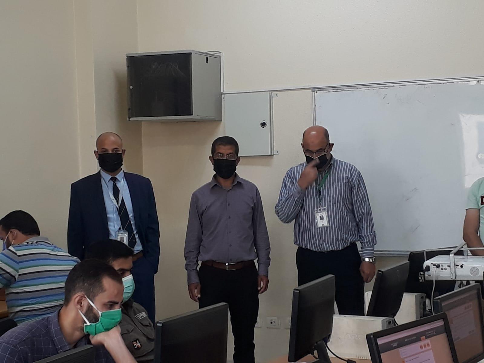 وزارة الصحة تعقد الامتحان المحوسب لشغل وظائف فني عمليات وممارس تخذير