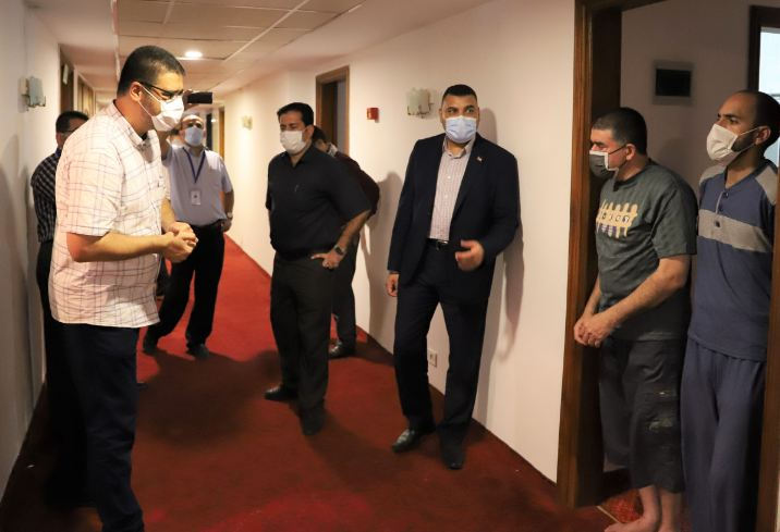 MOH-Gaza: The first medical team to finish a 14-day in EGH quarantine