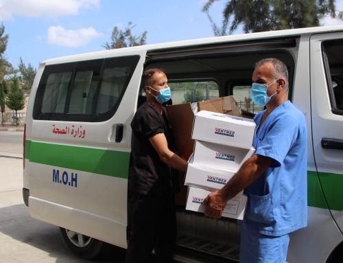 مقدمة من اتحاد الأطباء والصيادلة الفلسطينين في ألمانيا.. المستشفى الأوروبي يتسلم أجهزة تنفس صناعي حديثة