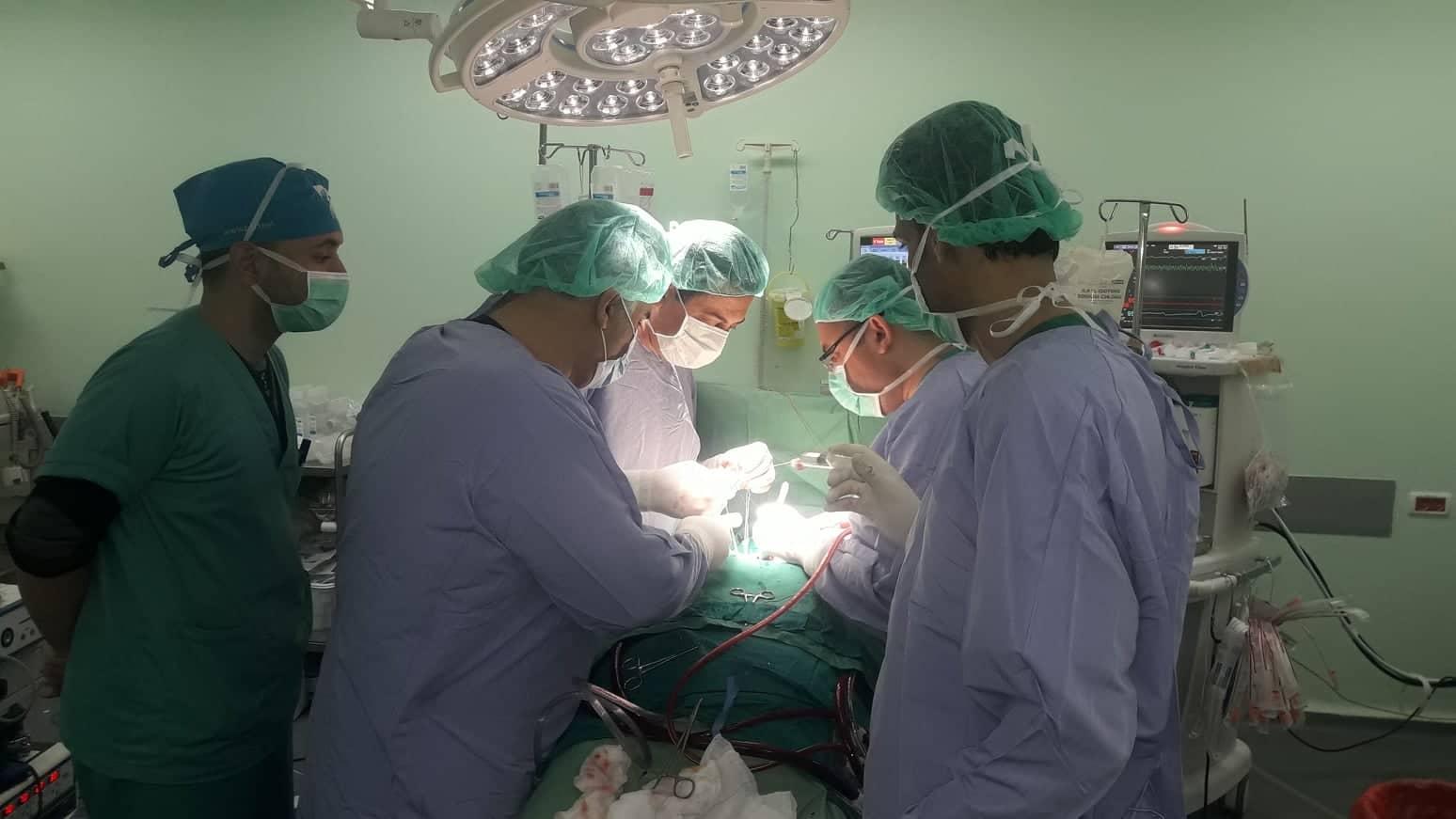 مجمع ناصر: إجراء أكثر من 40 عملية جراحية في مجال جراحة الأوعية الدموية خلال سبتمبر