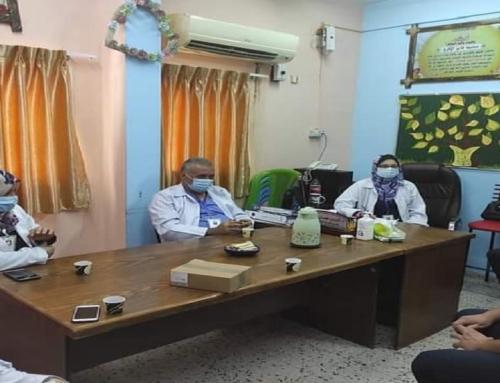لجنة مكافحة العدوى في مستشفى النصر توصي بتطبيق إجراءات الوقاية والسلامة لحماية المرضى