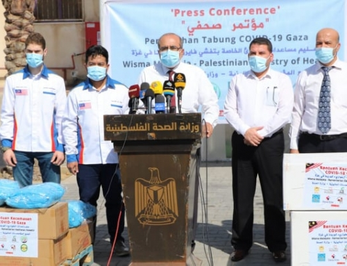 "MOH-Gaza receives (10) ventilators  for "" COVID-19″ patients"
