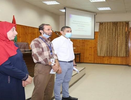 تنمية القوى البشرية تواصل عقد البرنامج التدريبي في مكافحة العدوى لأطباء امتياز الأسنان