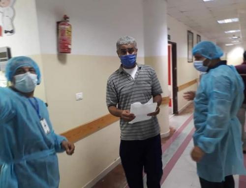 ا. شتات:شعبة خدمات الجمهور حلقة الوصل بين الطبيب والمريض لتيسير تقديم الخدمة وتقليص الازدحام بمستشفى الأندونيسى