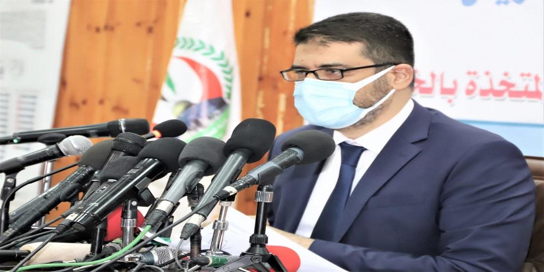 أهم ما جاء في حديث وكيل وزارة الصحة د. يوسف أبو الريش خلال المؤتمر الصحفي لاستعراض مستجدات الحالة الوبائية في قطاع غزة