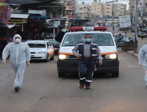 الصحة : سيارات الإسعاف تجوب شوارع محافظات قطاع غزة لحث المواطنين على الالتزام باجراءات الوقاية من كورونا