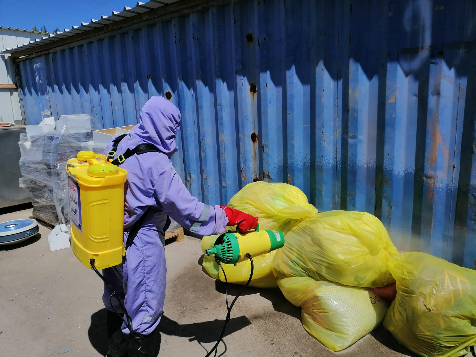 خلال جولة تفقدية..  الصواف يؤكد على ضرورة التزام شركات النظافة باللوائح والبروتوكولات المعتمدة