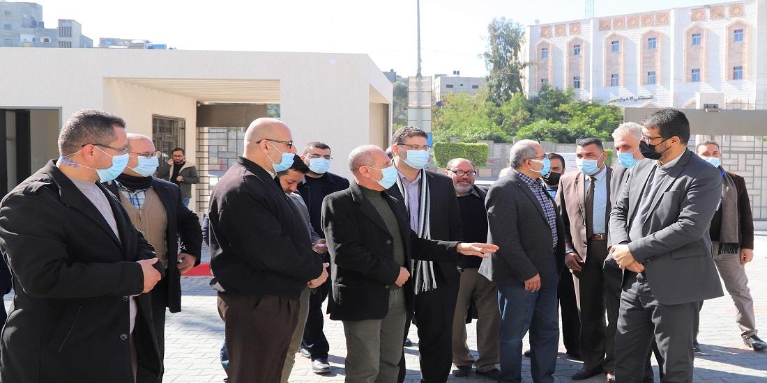 د. أبو الريش : مشروع اضافة طابقين للمستشفى الاندونيسي يشكل تعزيزا لسلة الخدمات التي يقدمها المستشفى