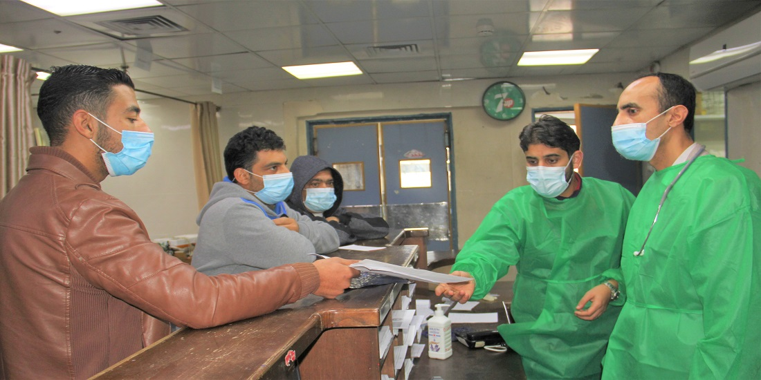 MOH- Gaza: More than One million and 139 thousand citizens visited the emergency departments of Gaza's hospitals in 2020