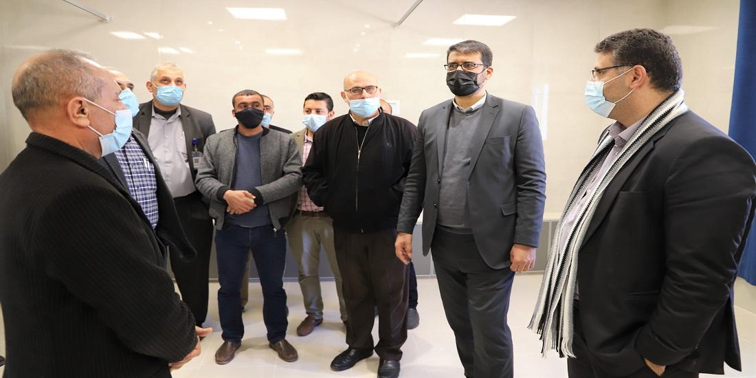 د. أبو الريش : مركز نورة الكعبي لغسيل الكلى اضافة نوعية لمنظومة الخدمات الصحية لأهلنا في شمال قطاع غزة
