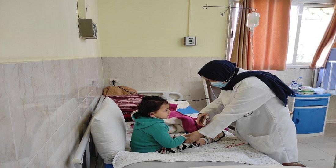 مستشفى النصر يقدم خدماته العلاجية لنحو (68 ألف) طفل خلال العام 2020