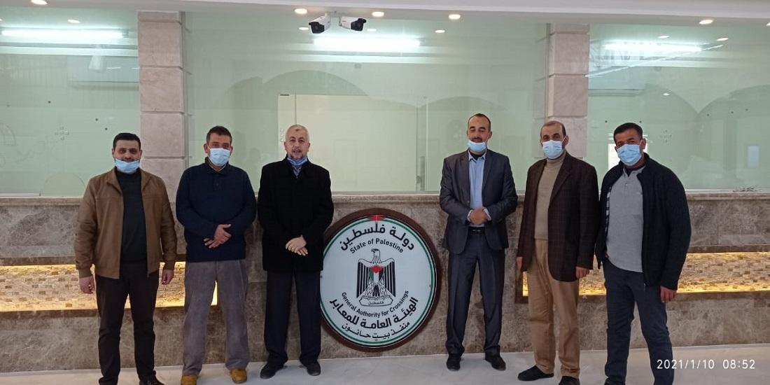 وزارتي الصحة والداخلية يبحثان تعزيز التعاون المشترك في معبر بيت حانون