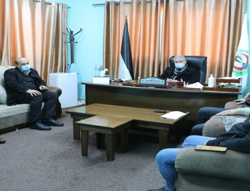 MoH – Gaza discusses the telemedicine mechanism with Caritas
