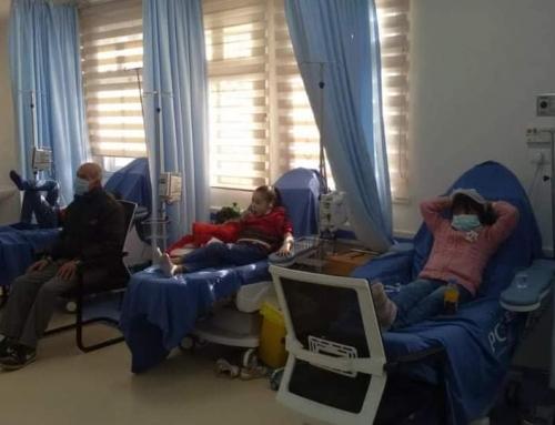 عيادات مرضى الدم والأورام في مستشفى الرنتيسي تقدم خدماتها للمرضى