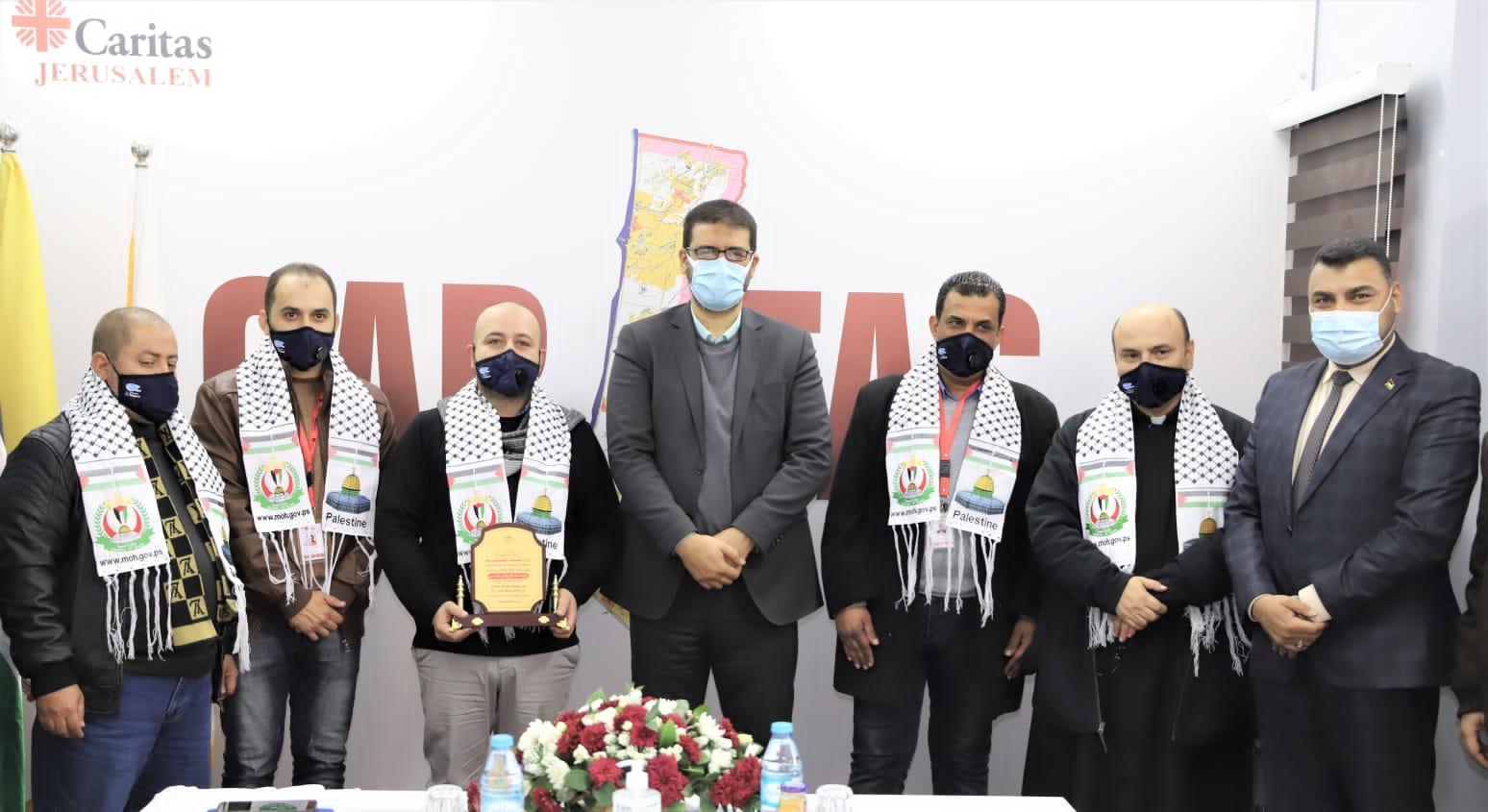 د.أبوالريش يثمن دور مؤسسة كاريتاس في تعزيز جهود مواجهة كوفيد ١٩