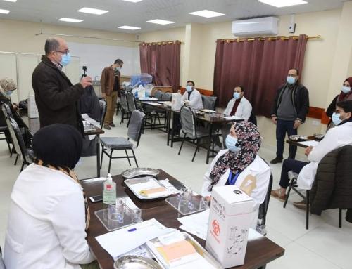 تنمية القوى البشرية تفتتح دورة الخياطة الجراحية (Basic Suture Training Course)