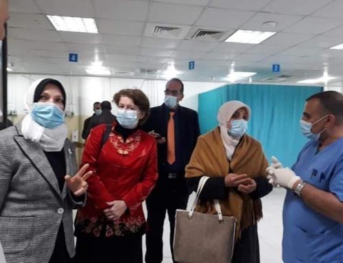 منظمة الصحة العالمية تتفقد احتياجات المستشفى الاندونيسي