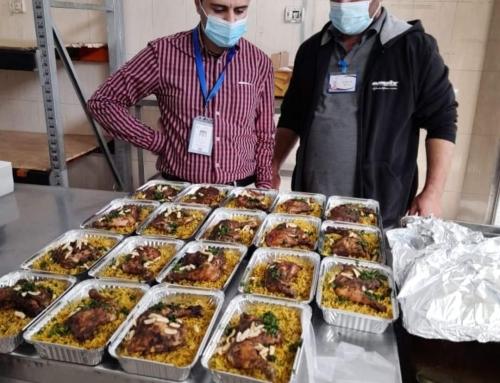 دائرة الخدمات الفندقية تقدم (947) ألف وجبة غذائية خلال عام 2020