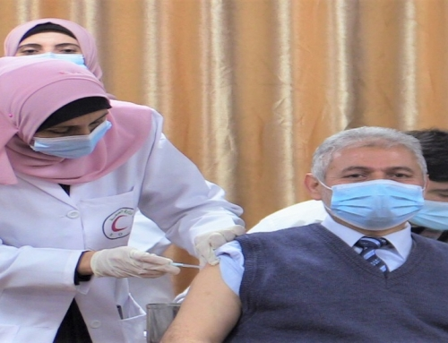 MOH-Gaza launches the national Covid 19vaccination campaign