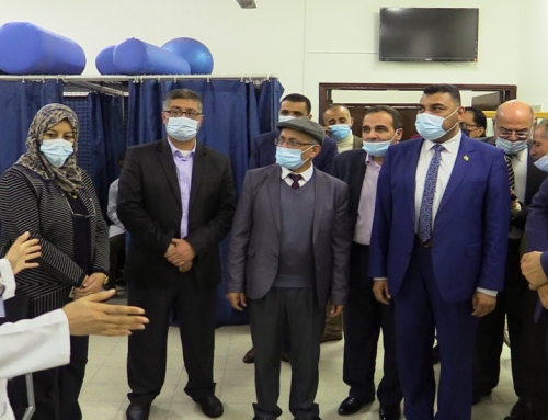 Dr. Abu Al-Reesh visits the municipality's artificial limbs reconstruction center