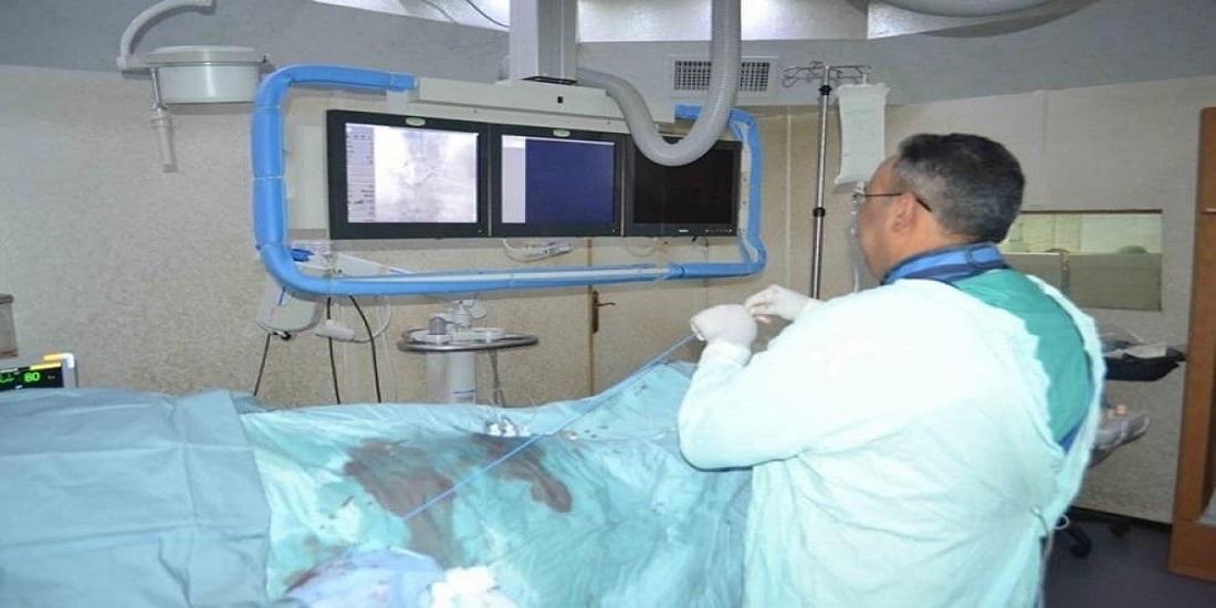 د.حبيب: حصاد جهود خمسة عشر عاما لخدمة القسطرة القلبية بوزارة الصحة يتكلل بعلاج الجلطات الدماغية في غزة