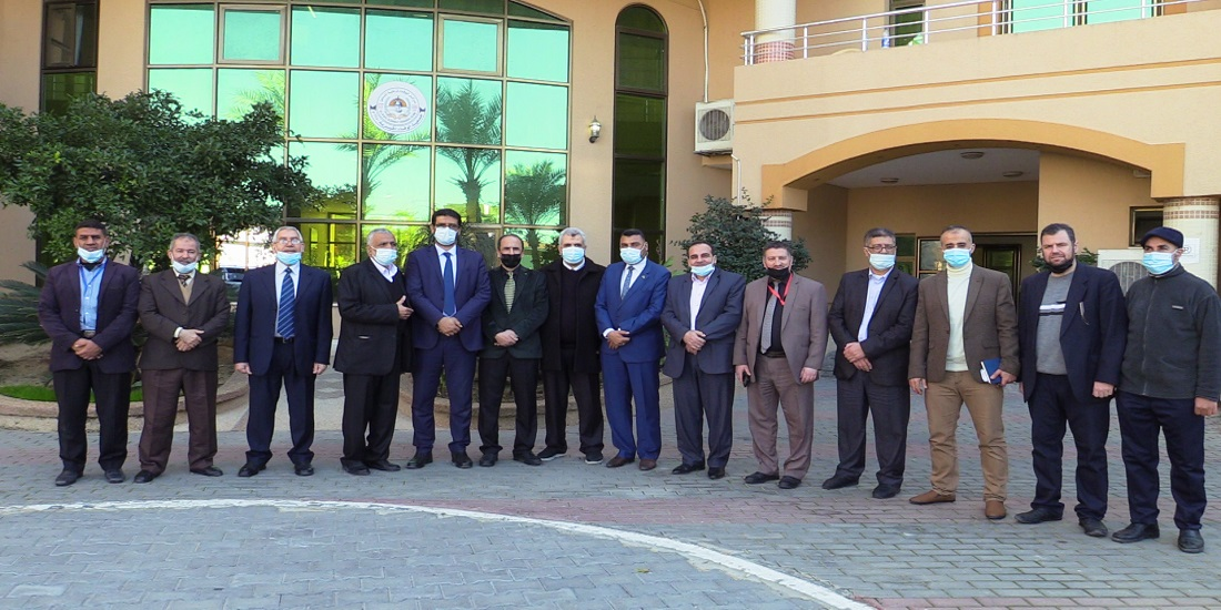 Dr. Youssef Abu Al-Rish visits Al-Wafa Hospital for Rehabilitation and Specialized Surgery