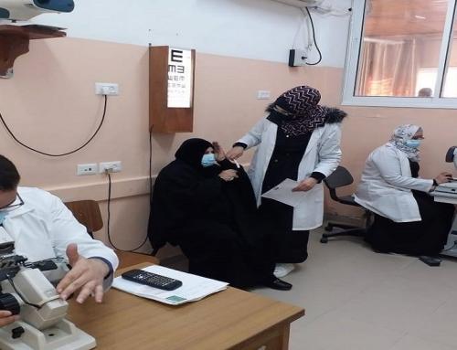 قسم البصريات بمستشفى العيون يقدم الخدمة لنحو (500) حالة خلال يناير الماضي