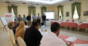 بالتعاون مع مؤسسة العون الطبي للفلسطينيين MAP-UK الصحة تشرع بالبدءفي البرنامج التدريبي الثاني في العلاج الطبيعي