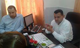 أُسرة العاملين في مستشفى العيون تهنئ الدكتور أكرم ابو نصار بمناسبة حصوله على شهادة البورد الفلسطيني