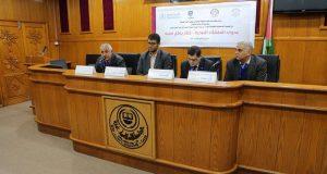 خلال مشاركته في يوم علمي..  د. أبو الريش: نبذل كافة جهودنا لتوفير بيئة صحية خالية من العدوى