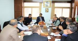 لجنة المشاريع بوزارة الصحة تعقد اجتماعا موسعا لمناقشة سلة المشاريع القادمة وسبل انجازها
