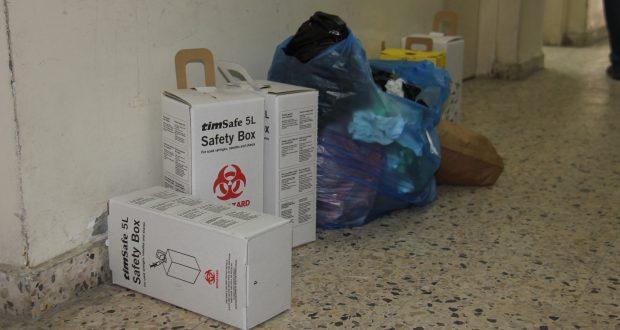 د. ضهير يحذر من مخاطر تراكم النفايات في المستشفيات والمراكز الصحية