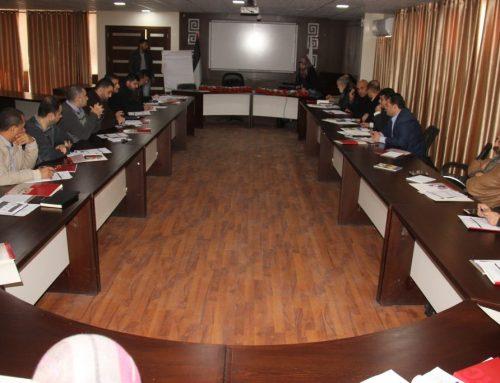 وزارة الصحة واللجنة الدولية للصليب الأحمر تشاركان في ورشة عمل حول القانون الدولي الإنساني