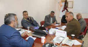 د. خليل شقفة يعقد لقاء مع الوحدات الفنية المساعدة بوزارة الصحة