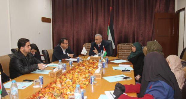 الادارة العامة لديوان الوزير تناقش آليات تنفيذ خطتها السنوية لعام 2018م