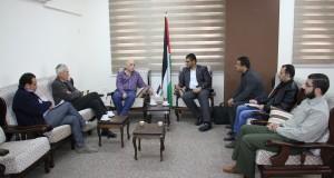 وزارة الصحة تبحث مع مؤسسة إغاثة اطفال فلسطين برنامج جراحة قلب الاطفال