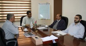 د. أبو الريش يبحث مع لجنة مكافحة العدوى اليات تطوير العمل
