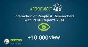 Interaction of People & Researchers with PHIC Reports 2014