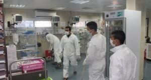 عائلة الغفري تنظم يوماً لتنظيف مستشفى النصر للأطفال