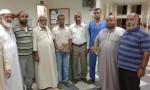 مستشفى النجار يستقبل وفداً من أسرة مسجد الزهراء للسلام بمحافظة رفح