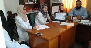 """مستشفى النجار يعقد محاضرة علمية حول مرض """" الكتف المجمد"""""""