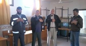 إدارة مستشفى النجار بالتعاون مع فريق الصليب الأحمر نستمر ببرنامج الدعم النفسي لسائقي الإسعاف